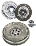 DUAL MASS FLYWHEEL CLUTCH KIT CSC OPEL VECTRA C GTS 2.2 DIRECT 5 SPEED